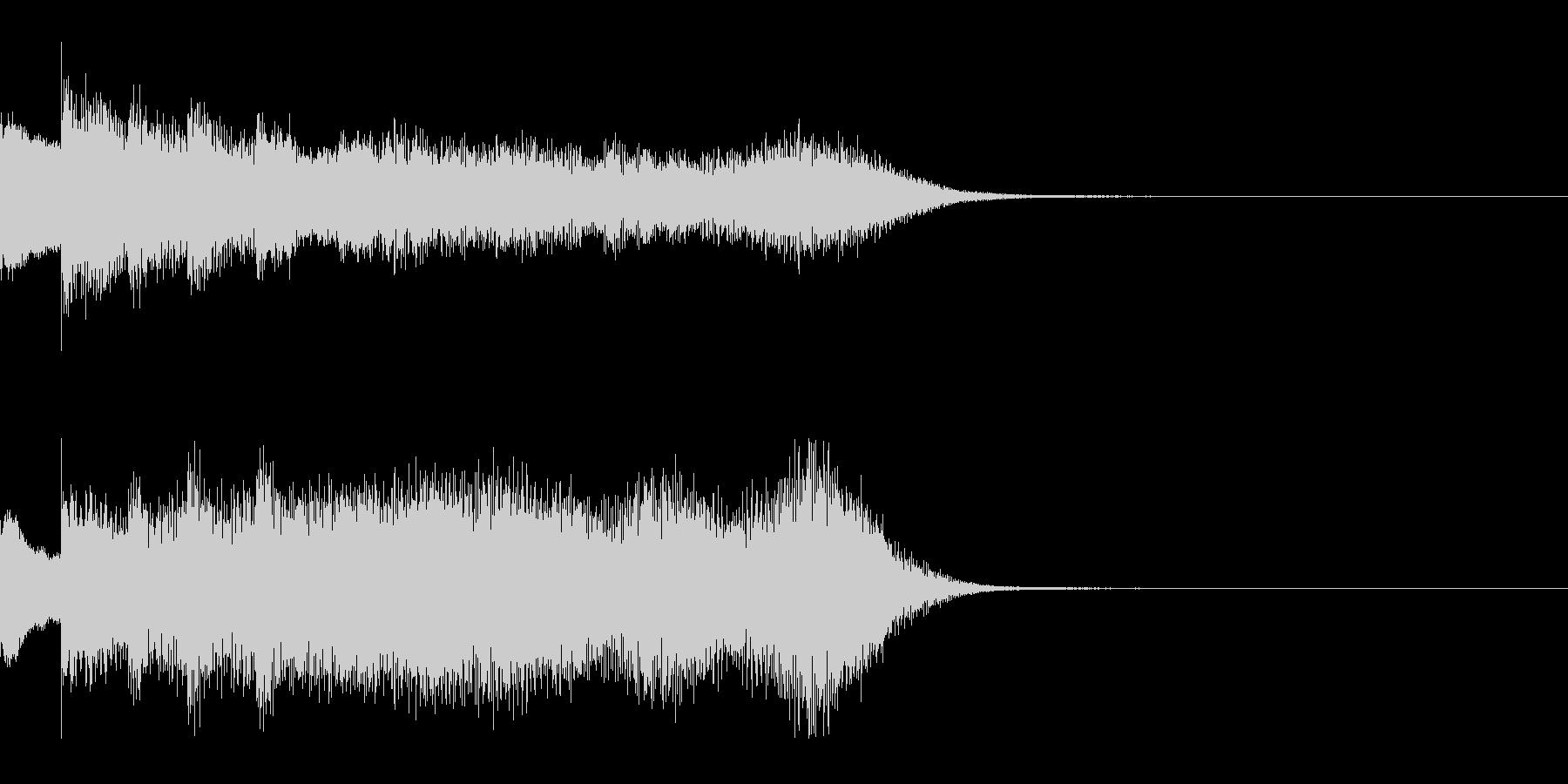 ゆっくり 現れる 登場 変化 変身 実験の未再生の波形