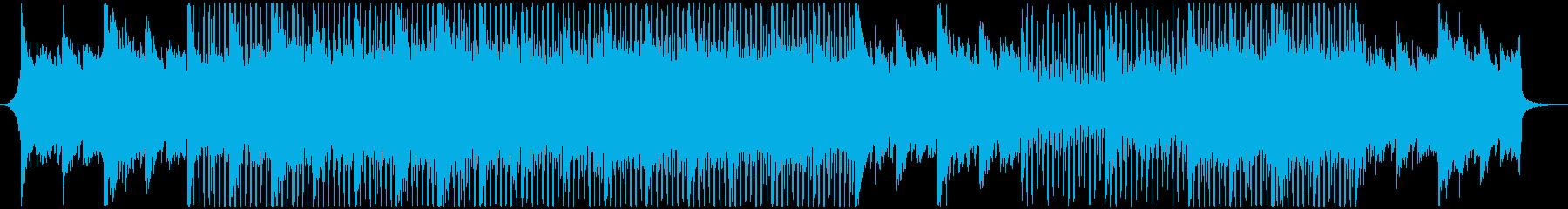 タイムラプスやコーポレートムービーBGMの再生済みの波形