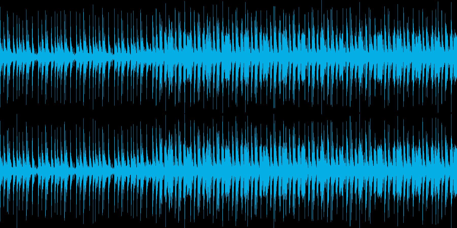ループ ニュースや科学番組に ミニマルの再生済みの波形
