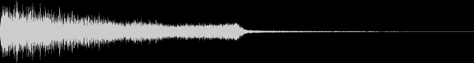 衝撃 ギター インパクト ノイズ 07の未再生の波形