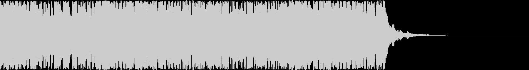 【バトル・サバイバル】緊張感のあるBGMの未再生の波形