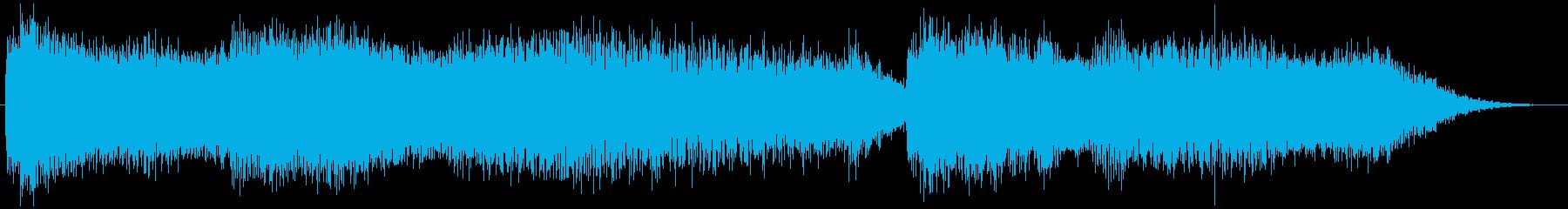 PADS 圧力降下01の再生済みの波形