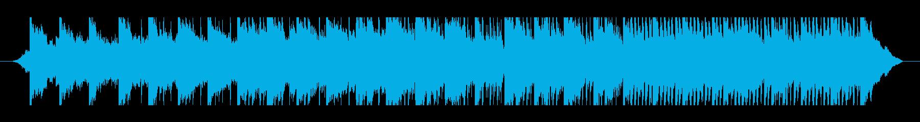 ポジティブな1分コーポレートミュージックの再生済みの波形