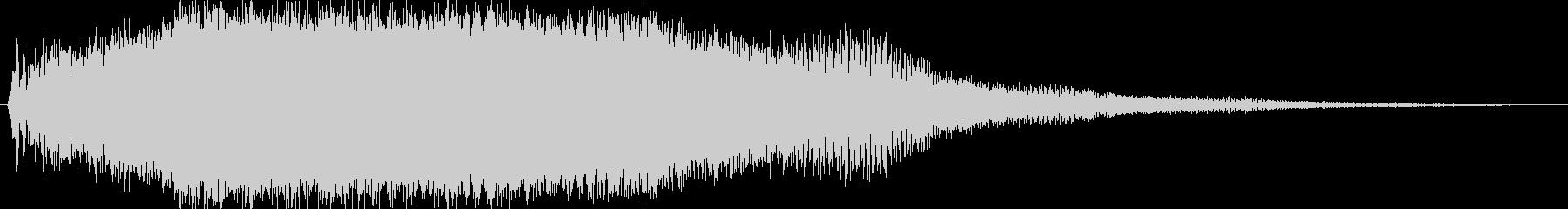 レトロ起動ジャーン/分厚い和音ME2の未再生の波形