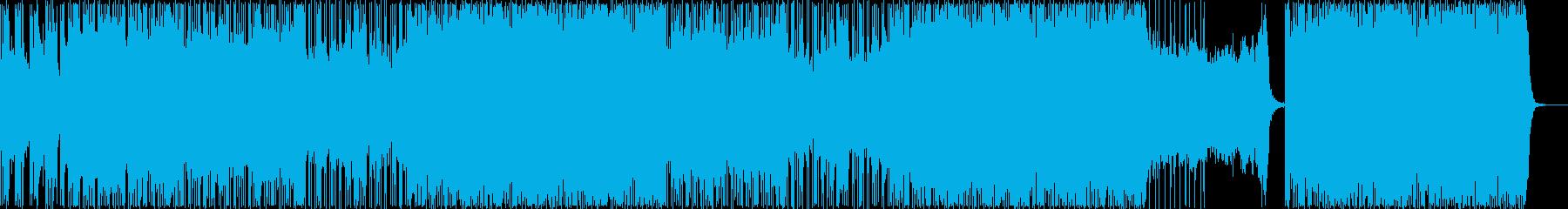 キラキラ/リラックス/ポップ/808の再生済みの波形