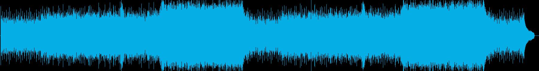 企業VPや映像53、爽快、オーケストラaの再生済みの波形