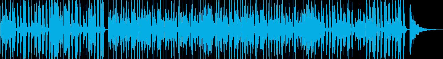 陽気なマンボーの再生済みの波形