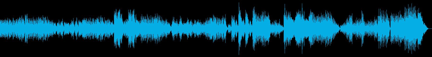 ベートーベンのエコセーズ 楽しい踊りの曲の再生済みの波形