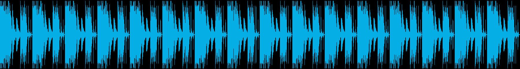 【エレクトロニカ】ロング4、ミディアム1の再生済みの波形