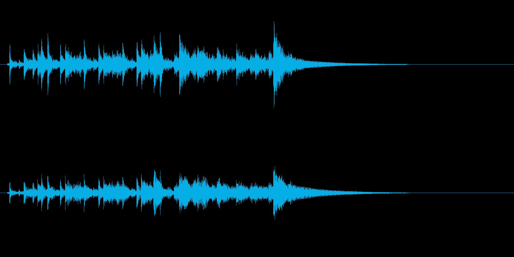 ティンパニリズム、(ハンド付き)オ...の再生済みの波形