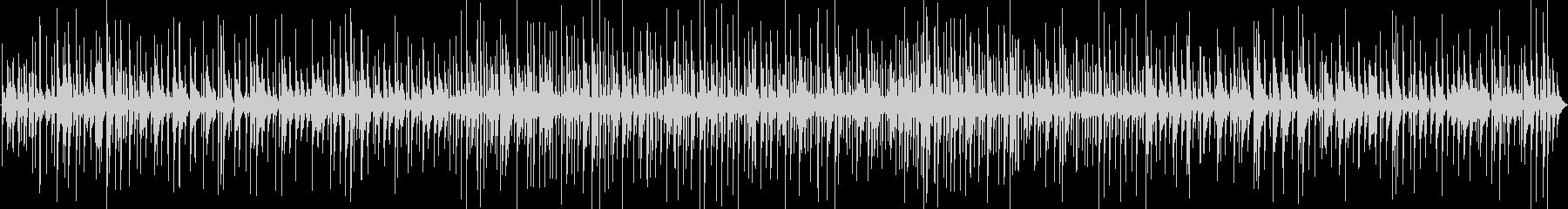 カクテルの似合うおしゃれピアノジャズバーの未再生の波形