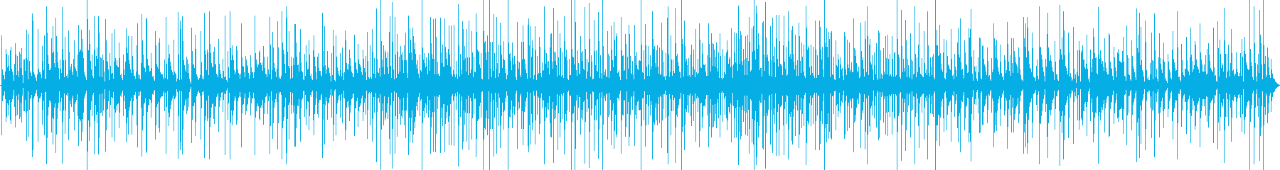 カクテルの似合うおしゃれピアノジャズバーの再生済みの波形