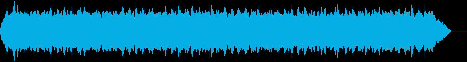 旋風のあるパルス音/微妙な背景の声...の再生済みの波形