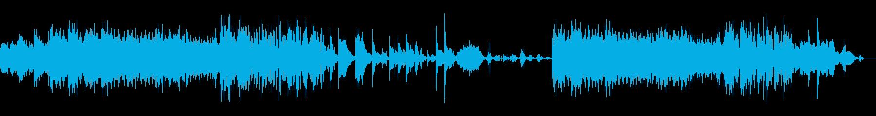 日本的なメロディーの神秘的なバラードの再生済みの波形