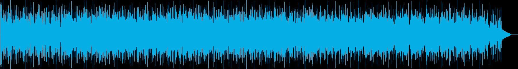 幻想的な変拍子インストの再生済みの波形