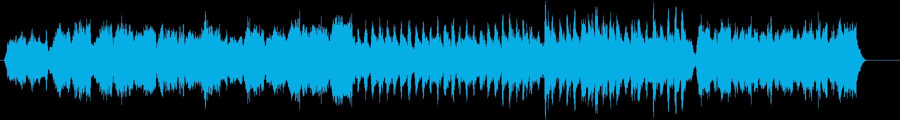 明るく上品で優雅なストリングス曲の再生済みの波形