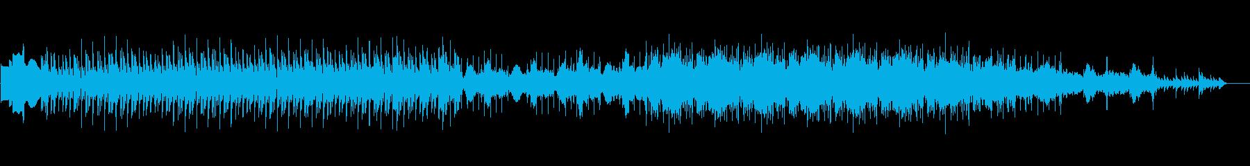 クリスマス時期のローファイヒップホップの再生済みの波形
