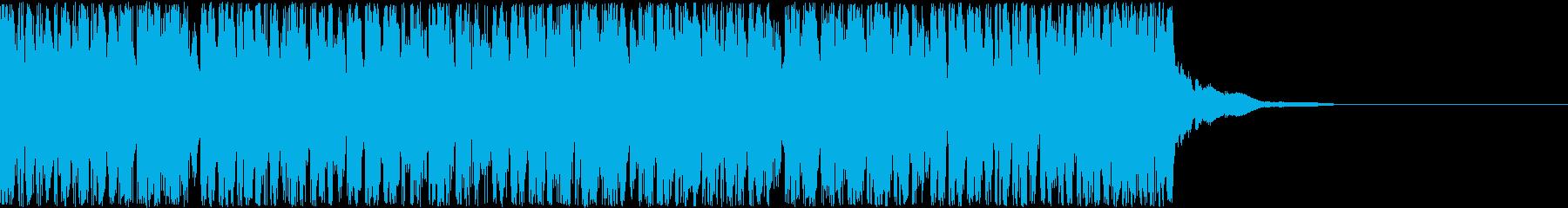 【近未来的】先に進みたくなるBGMの再生済みの波形
