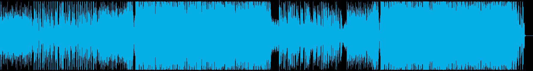 洋楽女性ボーカル/シンセウェーブ・80sの再生済みの波形