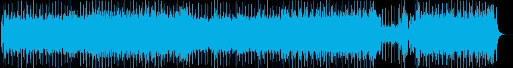 熱く爽やかな夏のドライブフュージョンの再生済みの波形