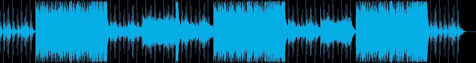 壮大で感動的なオーケストラバラードの再生済みの波形