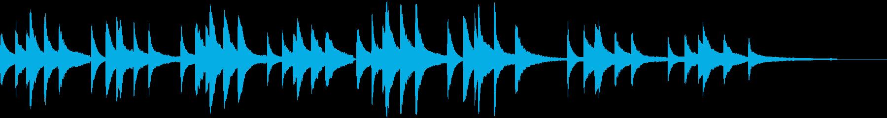 前奏曲第7番/ショパン【ピアノソロ】の再生済みの波形