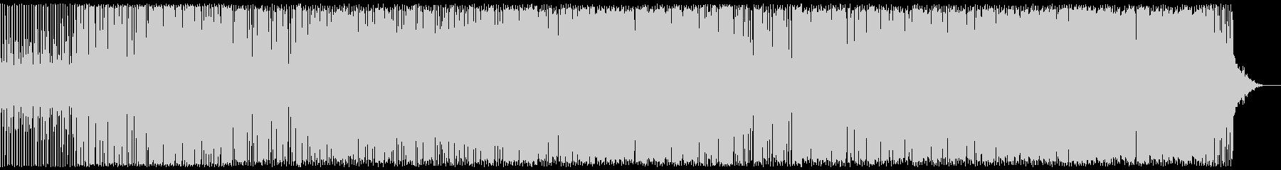 明るく可愛いエレクトロポップの未再生の波形