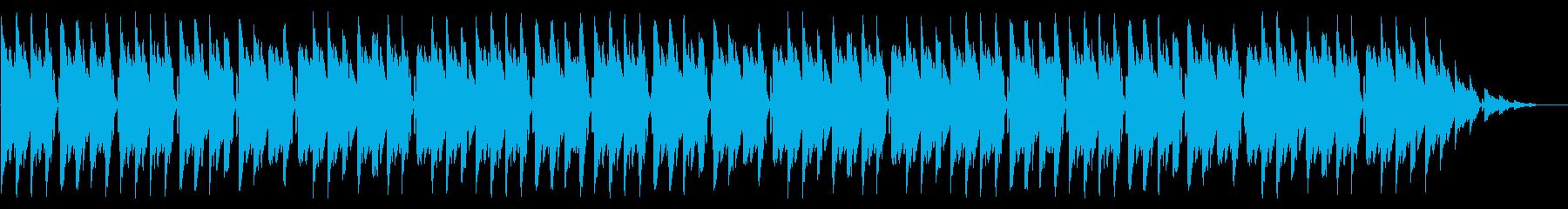 GB風RPGの街の曲の再生済みの波形