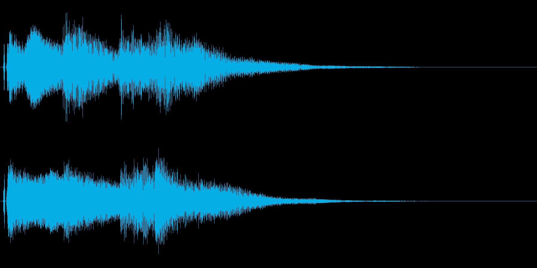 オープニング用ジングル100/ショートの再生済みの波形