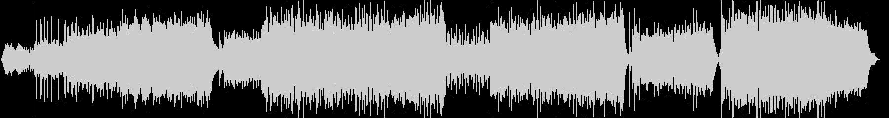 エレクトロなデジタルロックの未再生の波形