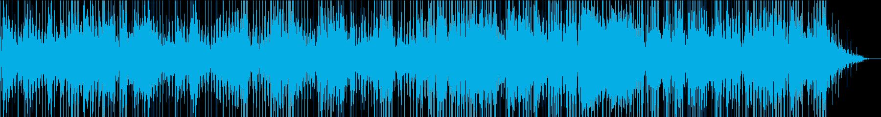 哀愁のあるブルースの再生済みの波形