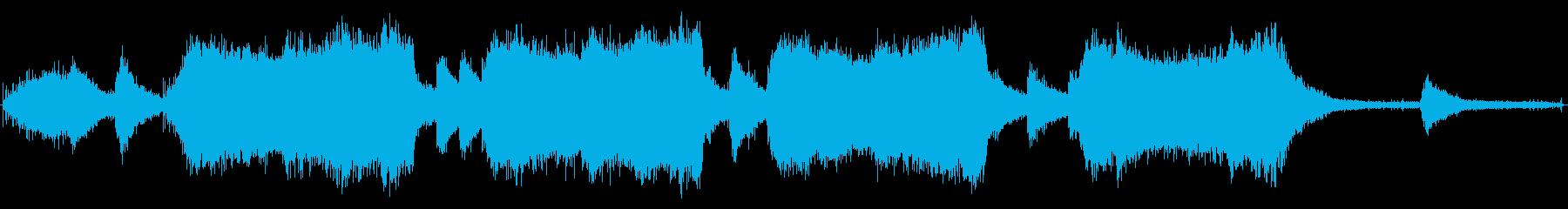 チェーンソー-木を切ってオフにするの再生済みの波形