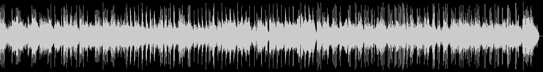 穏やかなピアノバラード_効果音なしの未再生の波形