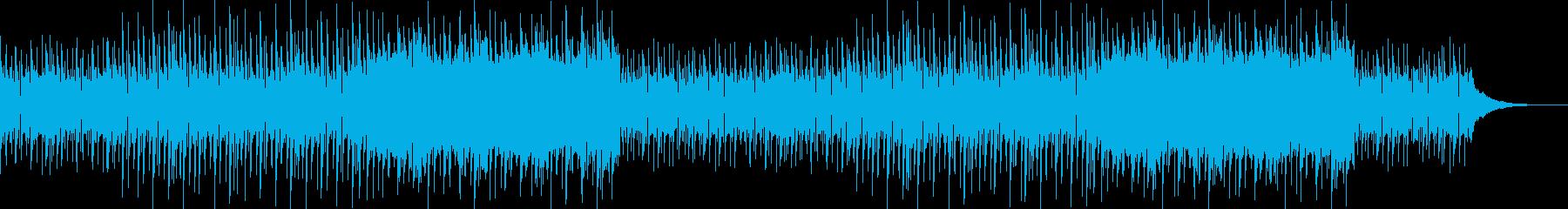 ほのぼの可愛いリズミカルなポップスの再生済みの波形