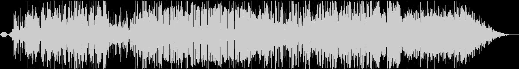 SAXの音がかっこいいファンクポップの未再生の波形
