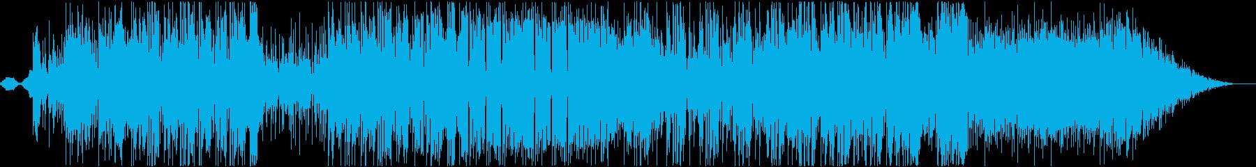 SAXの音がかっこいいファンクポップの再生済みの波形