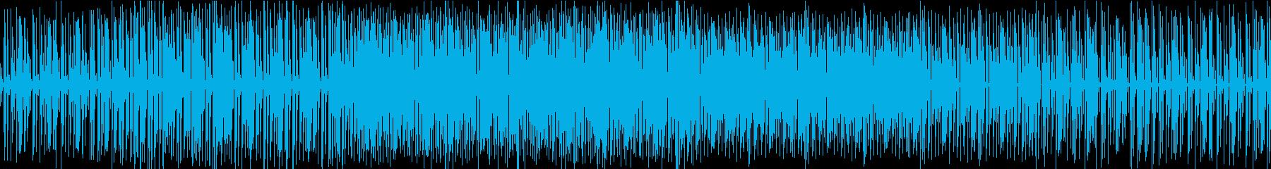 ゆったり堂々としたテクノです。の再生済みの波形