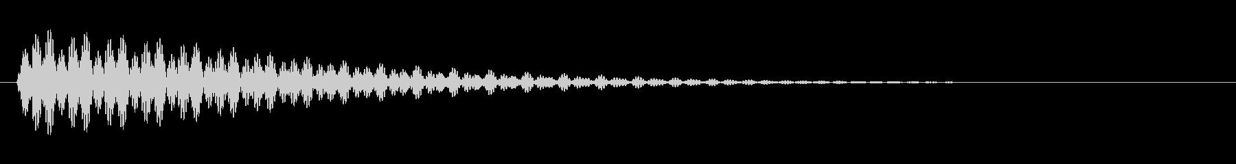 KANTクリック効果音20832の未再生の波形