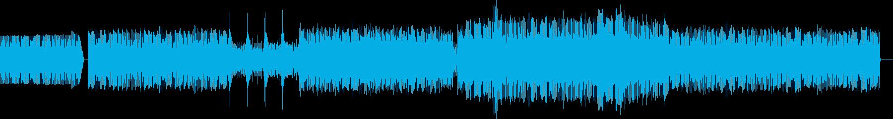 ループハウスの再生済みの波形