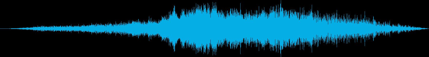 エアバスA319旅客機:内線:通過...の再生済みの波形