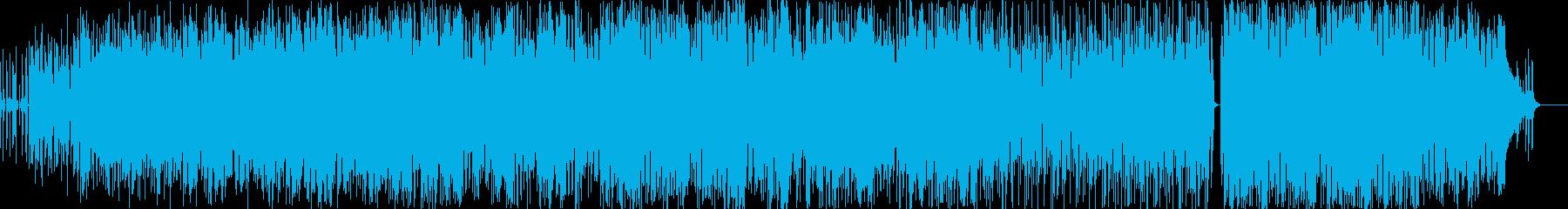 動画 アクション 感情的 環境 説...の再生済みの波形