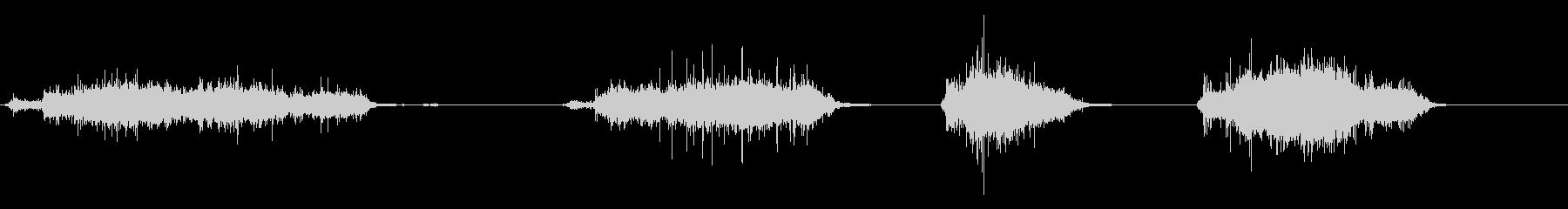 ほうきをかける効果音 01の未再生の波形
