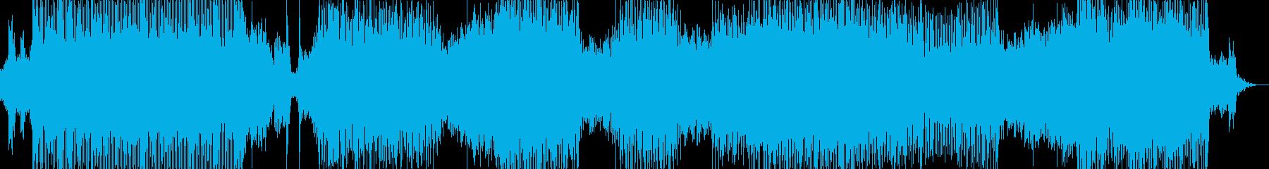 クールでアクティブなトランスチューンの再生済みの波形