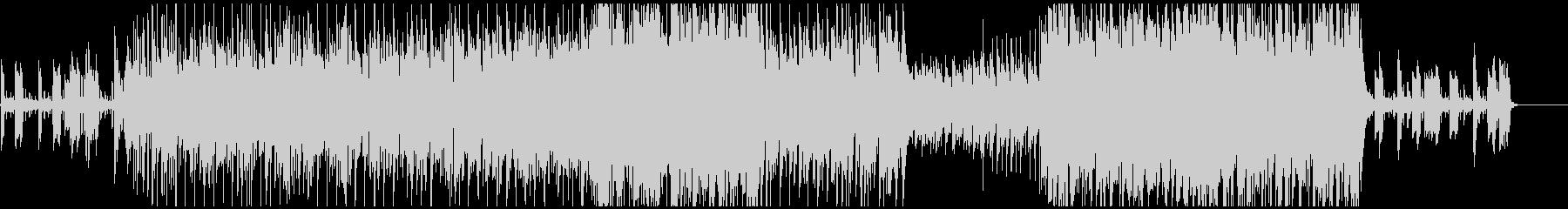 上質な雰囲気のアップテンポ曲の未再生の波形