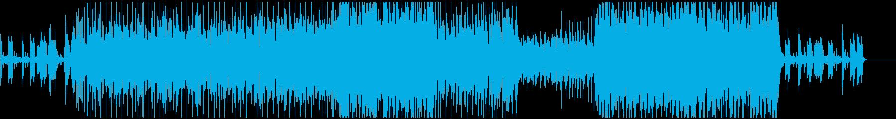 上質な雰囲気のアップテンポ曲の再生済みの波形