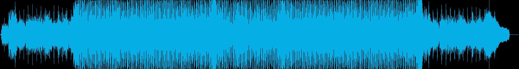 物語を語る様な前向きなメロディの再生済みの波形