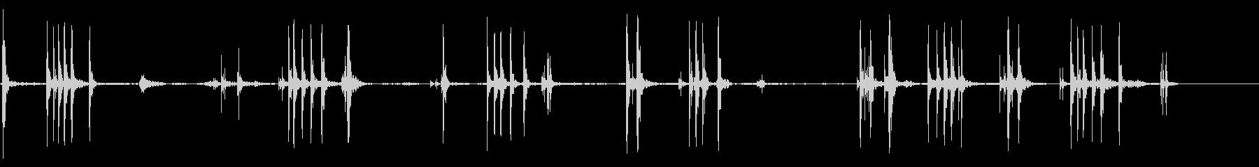 ラチェット:ターニングナットインパ...の未再生の波形