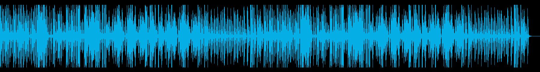 可愛い、ゆるい、楽しい、ピアノの再生済みの波形