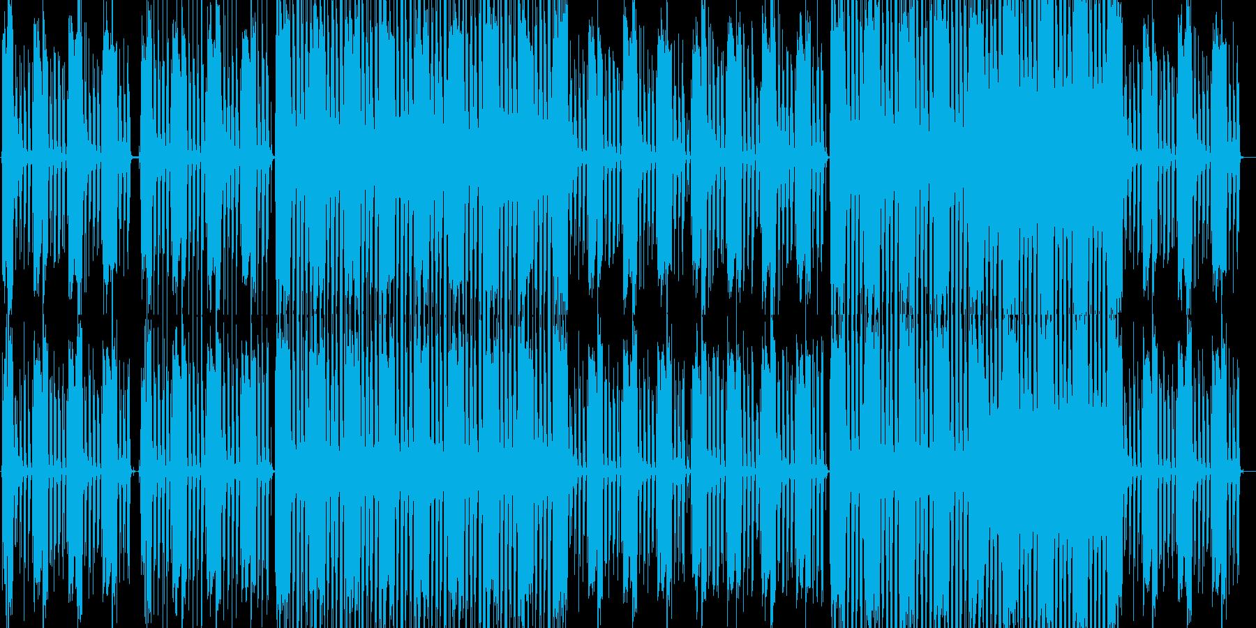 ブルース アクティブ 明るい バト...の再生済みの波形