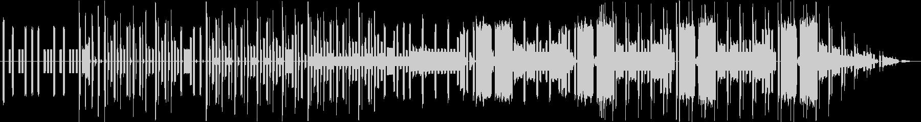 ファミコンサウンドのエレクトロの未再生の波形